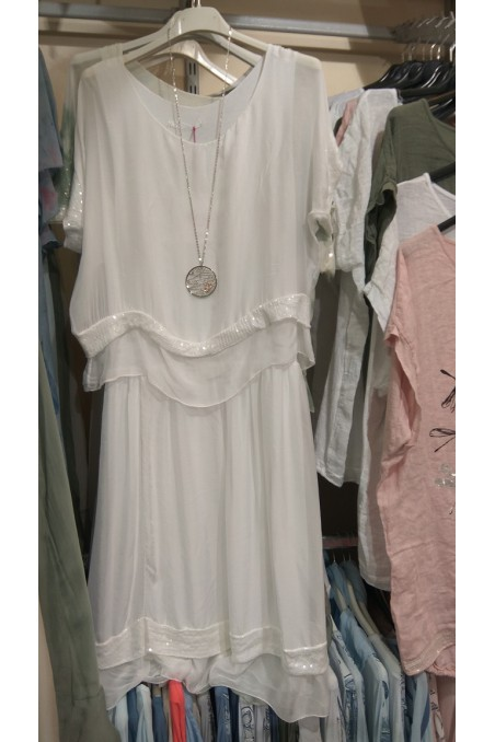 Sukienka jedwabna 113