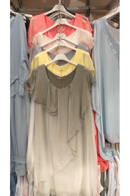 Sukienka jedwabna G179