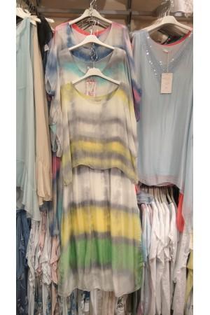Sukienka jedwabna G180