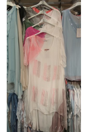 Sukienka jedwabna g184